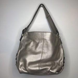 Coach Metallic Shoulder Bag